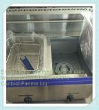 contro superiore 10L tutta la friggitrice del gas dell'acciaio inossidabile (WGF-72)