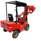 Venta caliente Self-Loading eléctrica Mini tractores con cargadora frontal