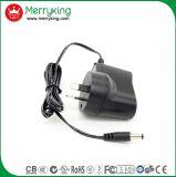 De geregelde Adapter van de Macht van de Output 6V 1A 2A AC gelijkstroom
