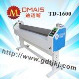 Máquina de estratificação da película Td-1600 fria quente elétrica