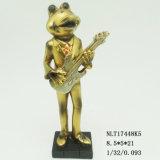 Les éléments de décoration de table personnalisé de l'or sculpture Figurine grenouille Frog Cadeaux