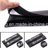 Le carbone de ceinture de sécurité de véhicule d'infini couvre des garnitures d'épaule