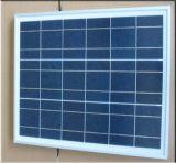 Panneau solaire polycristallin 10 W pour système d'éclairage solaire d'accueil