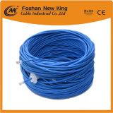 FTP de cable LAN Cable de red UTP CAT6 Aprobado Cable Ethernet de cable de color gris