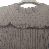 Платье юбка марлей вышивка сшивка Bud шелк / кружева платья