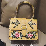 여자 Sy8493를 위한 Embroidery Tote Shoudler Bag 디자이너 숙녀 PU 가죽 핸드백