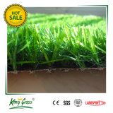 erba artificiale molle dello Synthetic del passo di gioco del calcio del prato inglese del tappeto erboso di 27mm