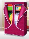저장 옷 누비이불을%s 경량 짠것이 아닌 접히는 직물 옷장을 조립하십시오