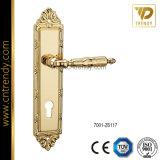 Wenzhou Poignée de la plaque de la poignée de verrouillage de porte en alliage de zinc (7041-Z6299)