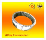 Inducción que endurece los engranajes de anillo internos usados en industria de las energías eólicas