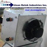 20*20 modelos de agua caliente al aire del intercambiador de calor con el ventilador colgando calentador