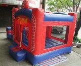 Klein het Springen van de Uitsmijter van Spiderman van de Baby Opblaasbaar Stuiterend Huis