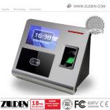 TCP/IP биометрический считыватель отпечатков пальцев время посещаемости с Fucntion контроля доступа