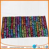 Utilitaire colorés de l'été des serviettes de plage