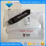 El embalaje personalizado de PVC Mate Zipper bolsas con Logo