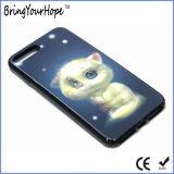 caja cambiable reflexiva del teléfono del diseño de la imagen 3D para el iPhone 7+/6+/6s+/8+