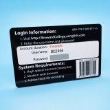 13.56MHz14443ISO UM MIFARE Ultralight EV1 Placa de RFID de plástico