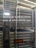 Строительные леса Ringlock компонентов системы бухгалтерского учета Ringlock оцинкованного Guardrail строительство