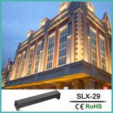 Luz de la fachada del LED; Iluminación de la arandela de la pared de AC220V DMX512 RGB