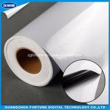 Etiqueta lustrosa do PVC/media ao ar livre da impressão/vinil autoadesivo