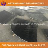 Plaque de doublure de la Chine surfaçant dur le carbure de chrome
