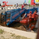 Keda hidráulico de alta eficiencia de máquina de recolección de plantas acuáticas