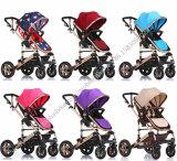 Neuer Aluminiumlegierung-materieller Baby-Spaziergänger für Zwillinge
