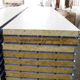 La couleur de l'acier bon marché EPS/laine de verre/panneau sandwich en laine de roche pour mur/toit