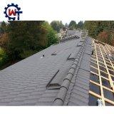 Вилла с блокировкой красочным покрытием из камня металлические деревянной мозаики на крыше