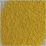 A forma amarela da estrela salpica salpicos do pó de lavagem