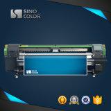 인쇄 기계 Ruv3204를 구르는 생산력 Sinocolor 3.2m 기치 인쇄 기계 큰 체재 인쇄 기계 Ricoh 높은 맨 위 Eco UV 인쇄 기계 UV 롤