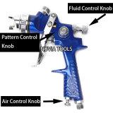 Injetor de pulverizador favorável ao meio ambiente H881p da gravidade do Voc de HVLP (baixa pressão do volume alto)