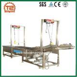 De commerciële Automatische Wasmachine van de Bel van de Groente van de Salade van de Transportband