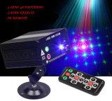 Nieuwe het Mengen zich van de Laser van de Patronen van de Aankomst Rg 3 Lens 48 het Lichte LEIDENE van de Afstandsbediening van IRL van de Projector van de Laser van de Kleur Correcte Actieve Licht van het Stadium