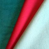 Tessuto pronto di riserva di Melton delle lane, il nero, colore rosso, colore blu scuro