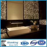 Отель внутренней и наружной оформление искусства настенной панели из пеноматериала из алюминия
