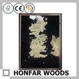 インの装飾のための木製フレームが付いている壁の芸術のトラの芸術の絵画