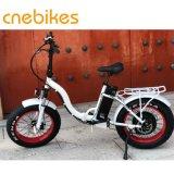 أبيض/سوداء [48ف] [500و] كهربائيّة يطوي درّاجة لأنّ سيادة