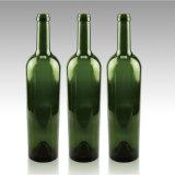 o produto comestível 750ml recicl a obscuridade - frasco de vidro verde