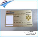 Shenzhen-Fabrik Cmyk Drucken Cr80 Plastik-Belüftung-Visitenkarte