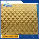 Aço inoxidável estéreo Gofragem Board Anti - Mosaico da folha de aço 545