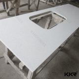 Kkr 공장 가격 인공적인 돌 까만 석영 부엌 싱크대
