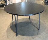 Нет складной 4 футов современный ресторан круглый стол