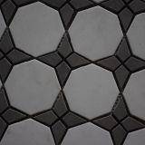 Плитки мозаики высокомарочного дешевого каменного мрамора по-разному форменный