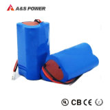 batteria dello ione del Li del pacchetto della batteria di litio di 7.4V 2.2ah
