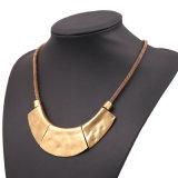 Ожерелья, тяжелых металлов в стиле ретро горловину с золотым покрытием цепи
