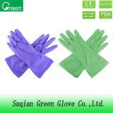 Дешевые перчатки PVC чистки Houshold