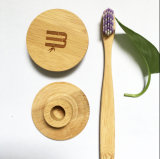 Suporte do bambu do Toothbrush do projeto simples do hotel