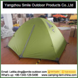 3人の二重デッカーの中国の風の抵抗力があるキャンプテント
