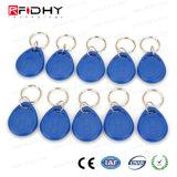 Controle de acesso esperto Keyfob do ABS RFID de NFC 13.56MHz